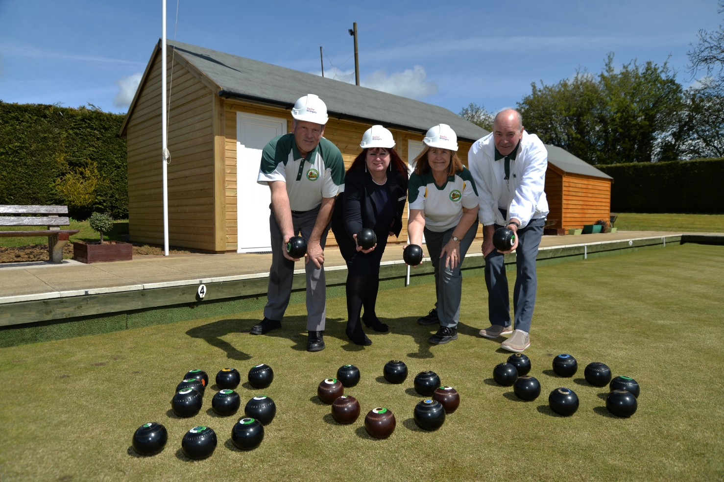 Taylor Wimpey - Woodford Meadows - Woodford Cum Membris Bowls Club - MAY16