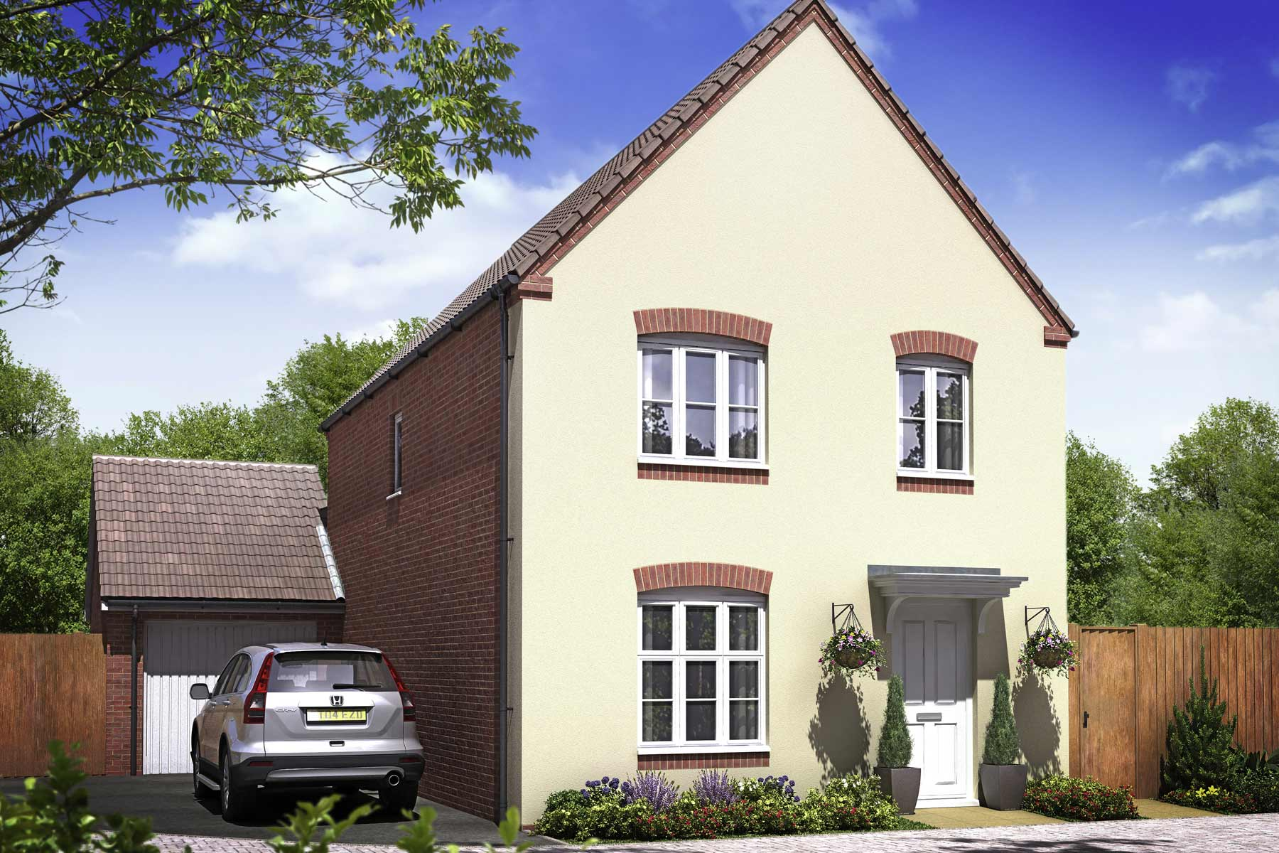 Artists impression of a typical Granforth home