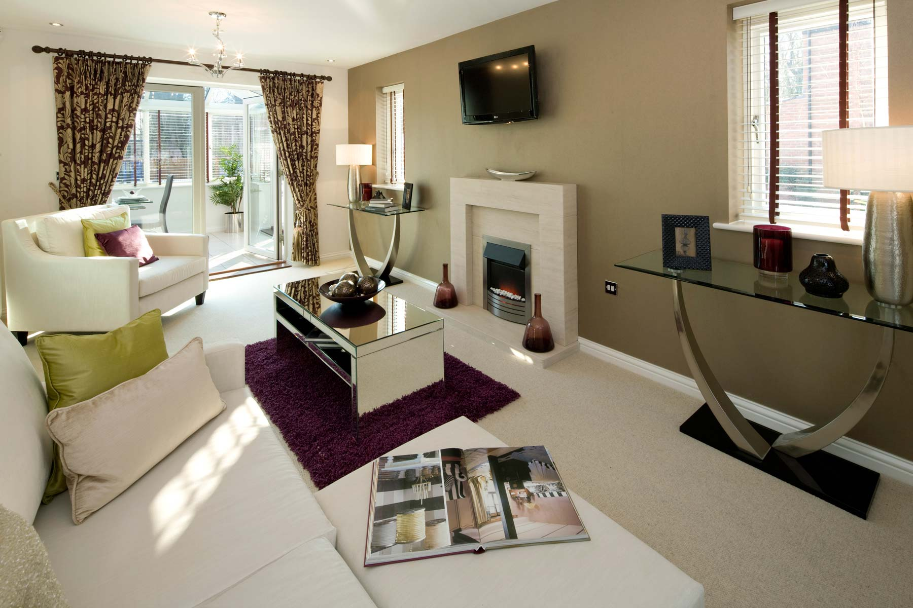 A Typical Taylor Wimpey Showhome Lounge Leybourne (4)