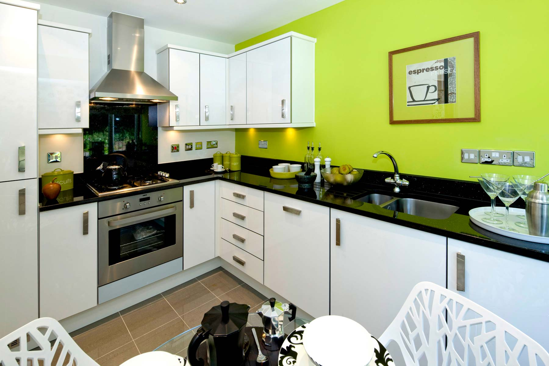 A Typical Taylor Wimpey Showhome Kitchen Leybourne (4)