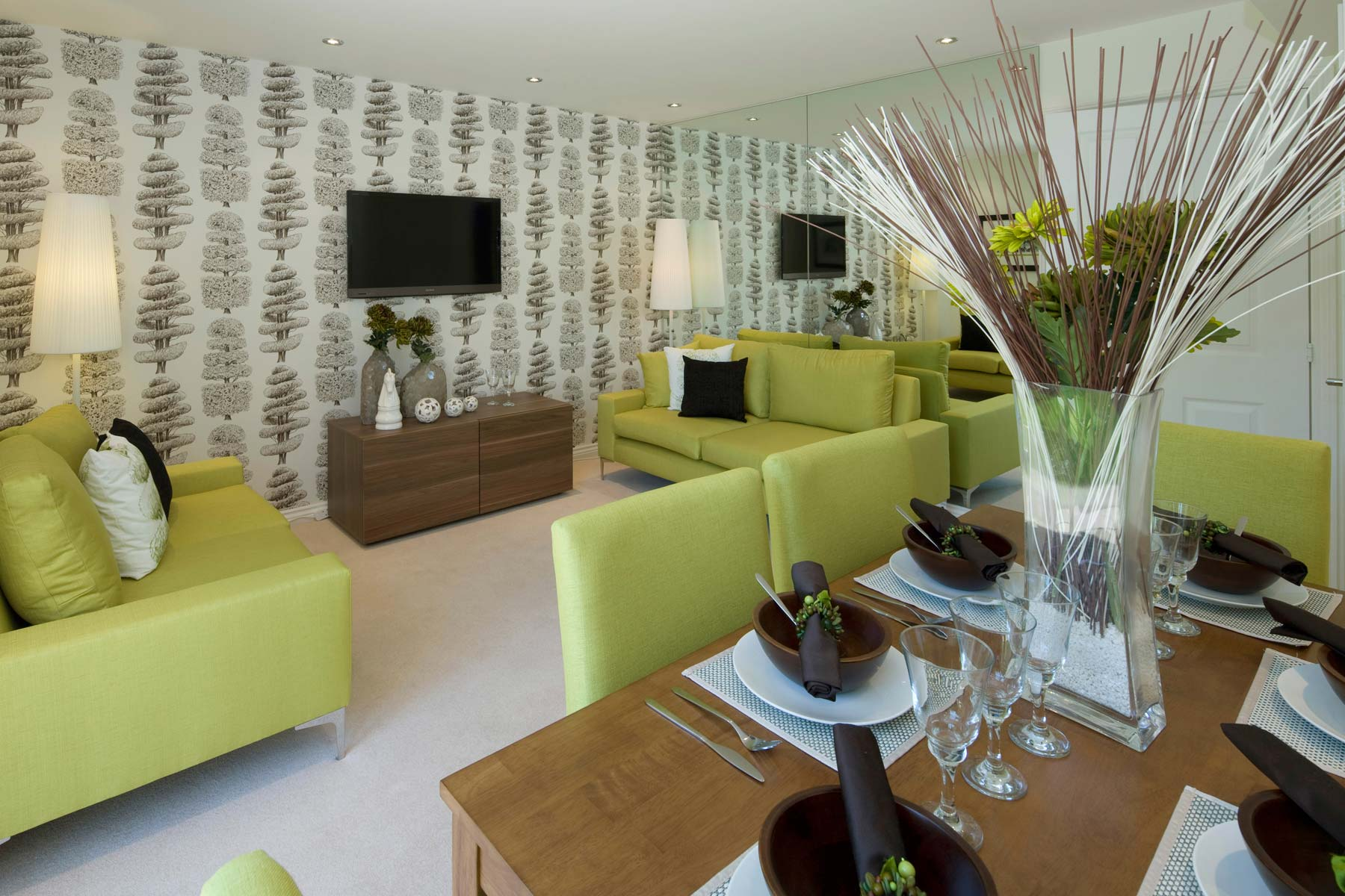 A Typical Taylor Wimpey Showhome Lounge Leybourne (3)