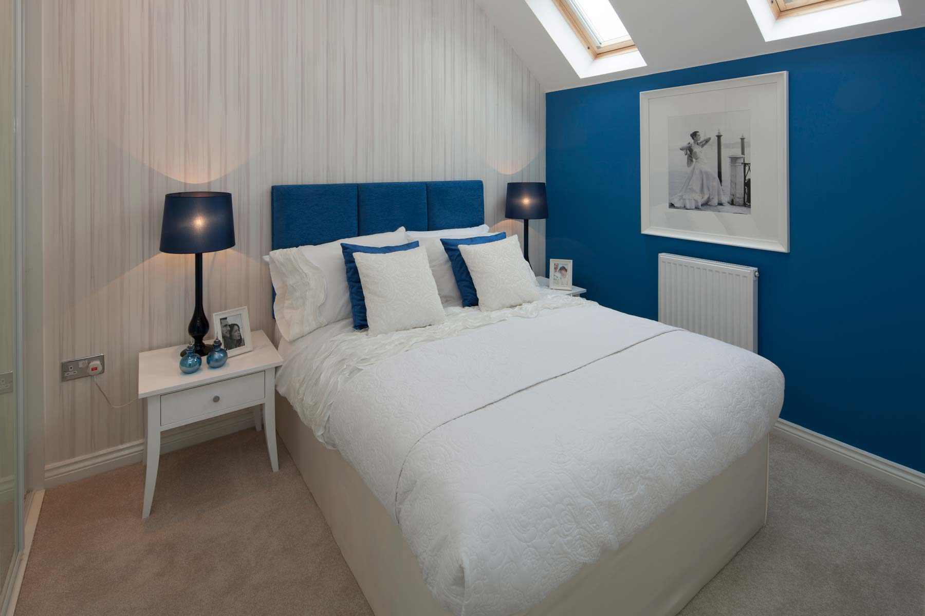 The Osterley Showhome Bedroom at Leybourne Chase