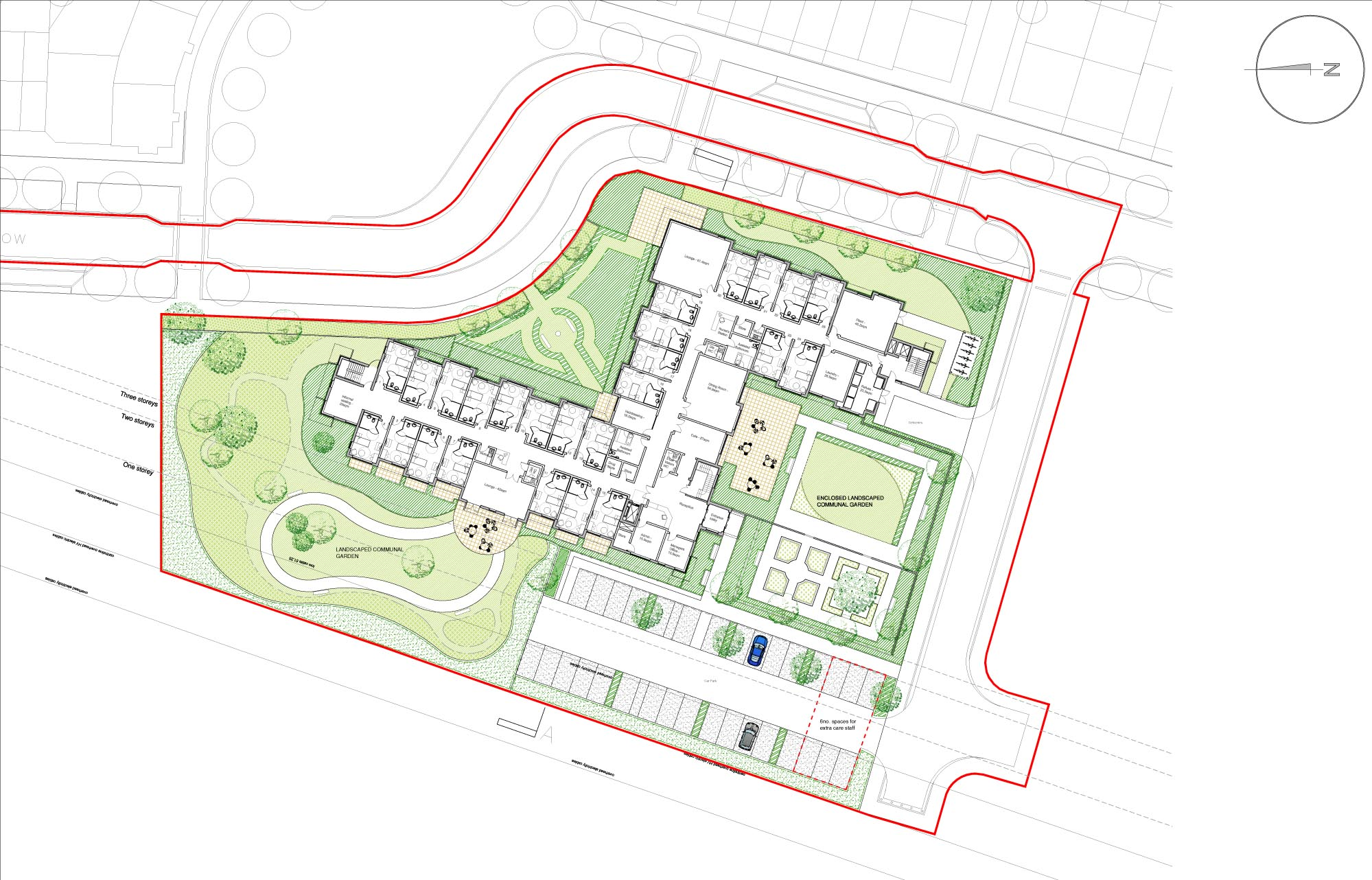 Nursing Home Site Plan