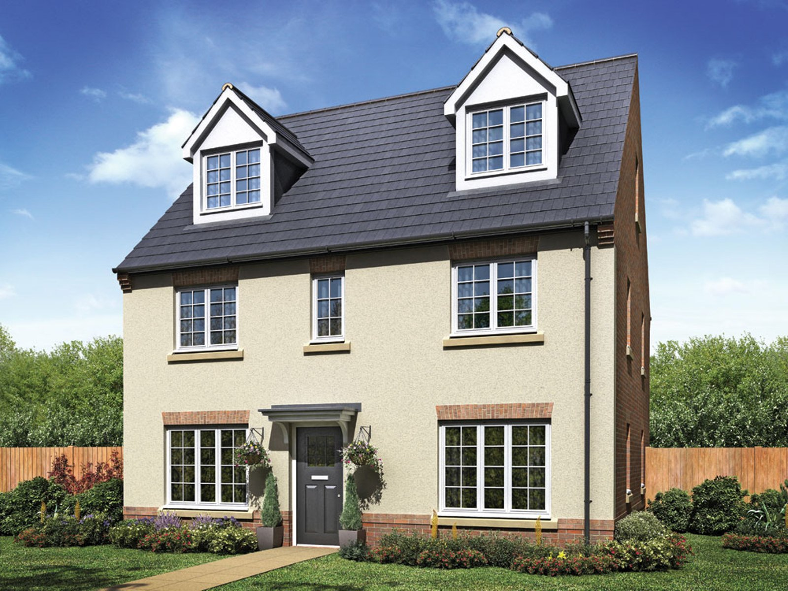 Taylor Wimpey - The Wilton - 5 bedroom new home
