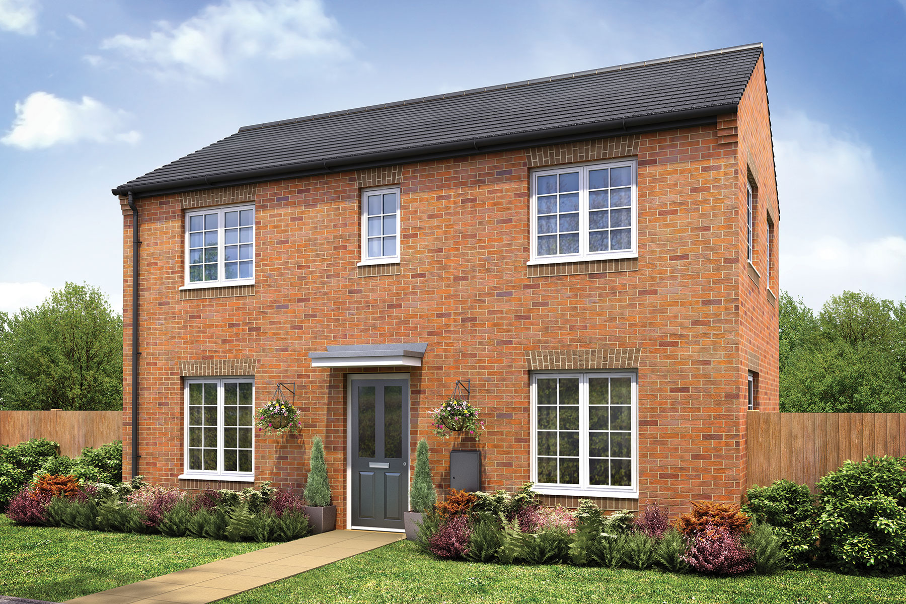 Taylor Wimpey - Xpressions - The Easedale - 4 bedroom home